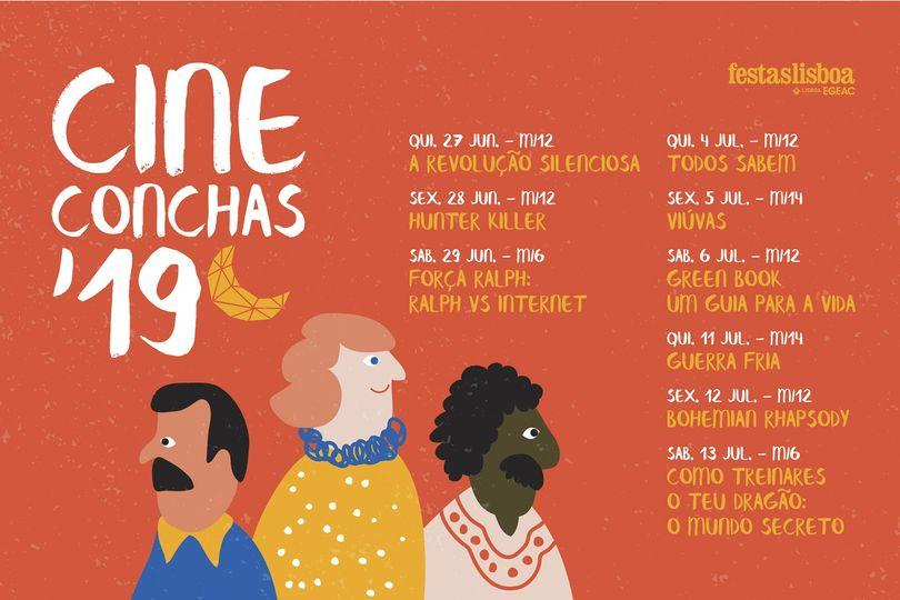 Cine Conchas 2019