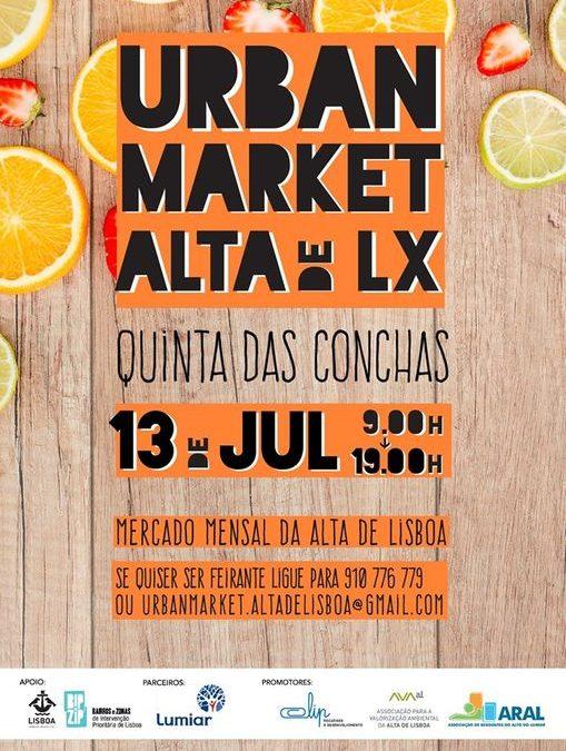 Já conhece o Urban Market na Alta de Lisboa?